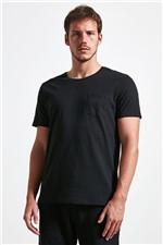 T-shirt Jazz Basic Pocket Preto G