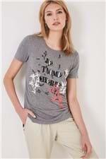 T-Shirt Je T`aime Cherie Mescla - P