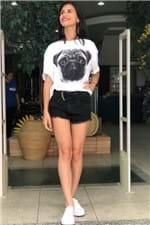 T-shirt Light Pug White Viva Vida - P