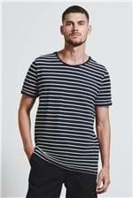 T-shirt Listra Pb Botone Preto/off G