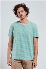 T-shirt Listra Slim Blend T-shirt Listra Slim Blend Verde P