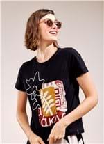 T-Shirt Local Arts PRETO G