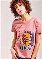 T-Shirt Local Arts ROSA CLARO G