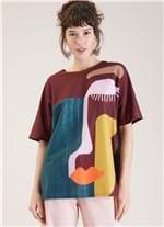 T-shirt Local Dalila Vinho G