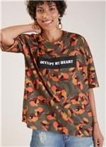 T-shirt Local Estampa Camuflado G