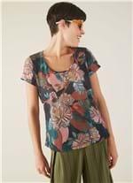 T-shirt Local Floralia Preto M