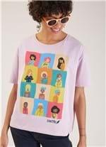 T-shirt Local Mulher Cantao Rosa G