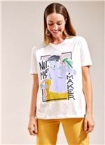 T-Shirt Local Not a Muse BRANCO G