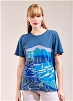 T-Shirt Local Porto AZUL MARINHO G