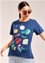 T-Shirt Local Salada Grega AZUL G