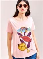 T-Shirt Local Sea ROSA CLARO G