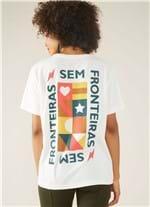 T-shirt Local Sem Fronteiras Branco G