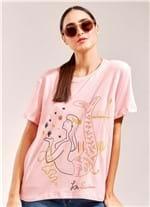T-Shirt Local Sirene ROSA CLARO G