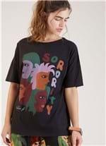 T-shirt Local Sorority Preto G