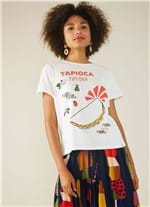 T-shirt Local Tapi Branco G