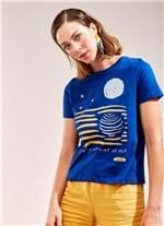 T-Shirt Lua AZUL G