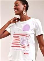 T-Shirt Lua BRANCO G