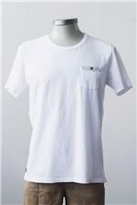 T-shirt M/c Malha Caraiva Pocket T-shirt Caraiva Pocket Branco M
