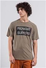 T-shirt Midnight Surf Color Caqui G