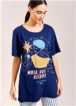 T-Shirt Musa dos Astros AZUL MARINHO G