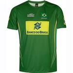T-Shirt Olympikus Jogo Comercial Masculina - Verde