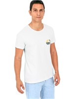 T-shirt Passaros-branco-p