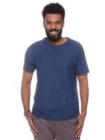 T-shirt Periquito Gola Fio-azul Marinho-p