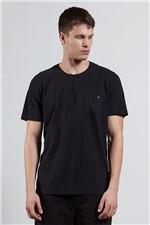 T-shirt Pocket Poa Preto G