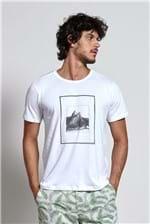 T-shirt Polaroid Branco G
