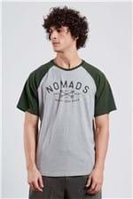 T-shirt Raglan Nomads Vd Militar M