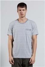 T-shirt Recycle Stripe Azul G