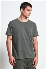 T-shirt Reverberation Verde M