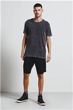 T-shirt Rib Preto G