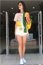 T-shirt Salada de Flor Farm - P