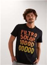 T-shirt Silk Filtro 10000 Preto M