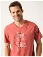 T-shirt Silk Life Is Better