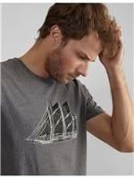 T-shirt Silk Old Boats