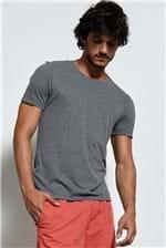 T-shirt Silver Mescla Escuro G