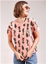 T-Shirt Strike a Pose ROSA CLARO G