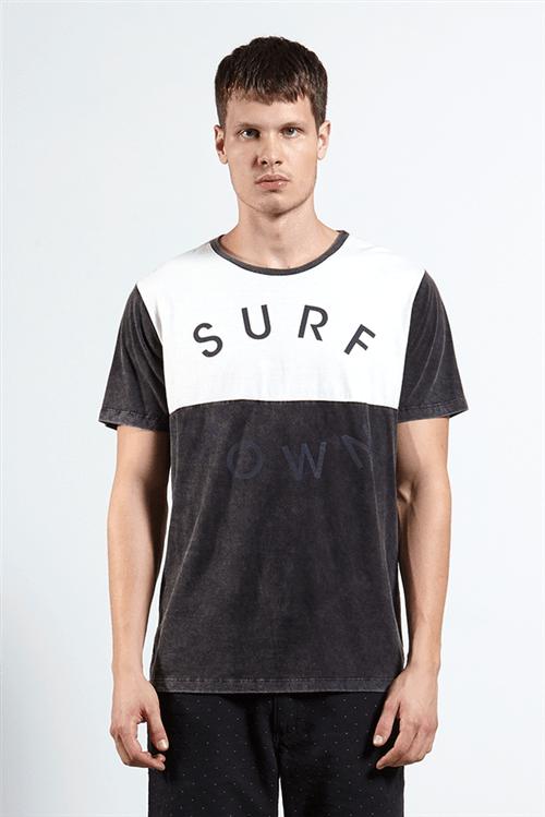 T-shirt Surf Town Block Unica G