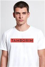T-shirt Tamborim Off/vermelho G