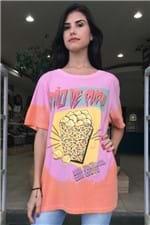 T-shirt Tie Dye Pão de Queijo Farm - P