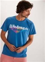T-shirt Tinturada Silk Waimea 5000 V Azul G
