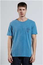 T-shirt Turn Green Azul G