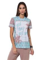 T-Shirt Viscose Bolinhas