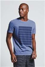 T-shirt Wind Bars Indigo G