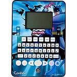 Tablet do Batman com Função Touch 40 Atividades Bilingue Candide Azul