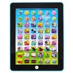 Tablet Interativo Educativo Bilingue Azul Art Brink