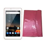 Tablet M7s Plus Rosa Ouro Nb275 Android 7.0 Multilaser Bluetooth com Capa Rosa