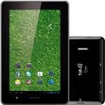 "Tablet Multilaser com TV Digital NB046 4GB Wi-fi Tela 7"" Android 4.0 Processador 1.2 GHz - Preto"